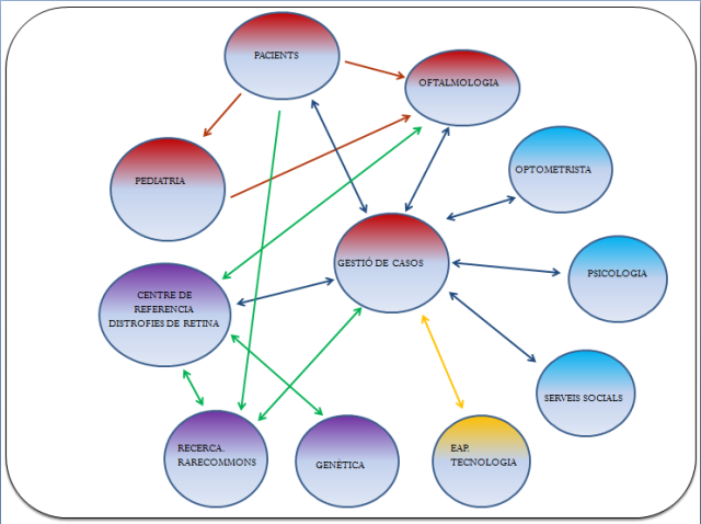 Diagrama de Fluxos. Projecte PEDRETINA